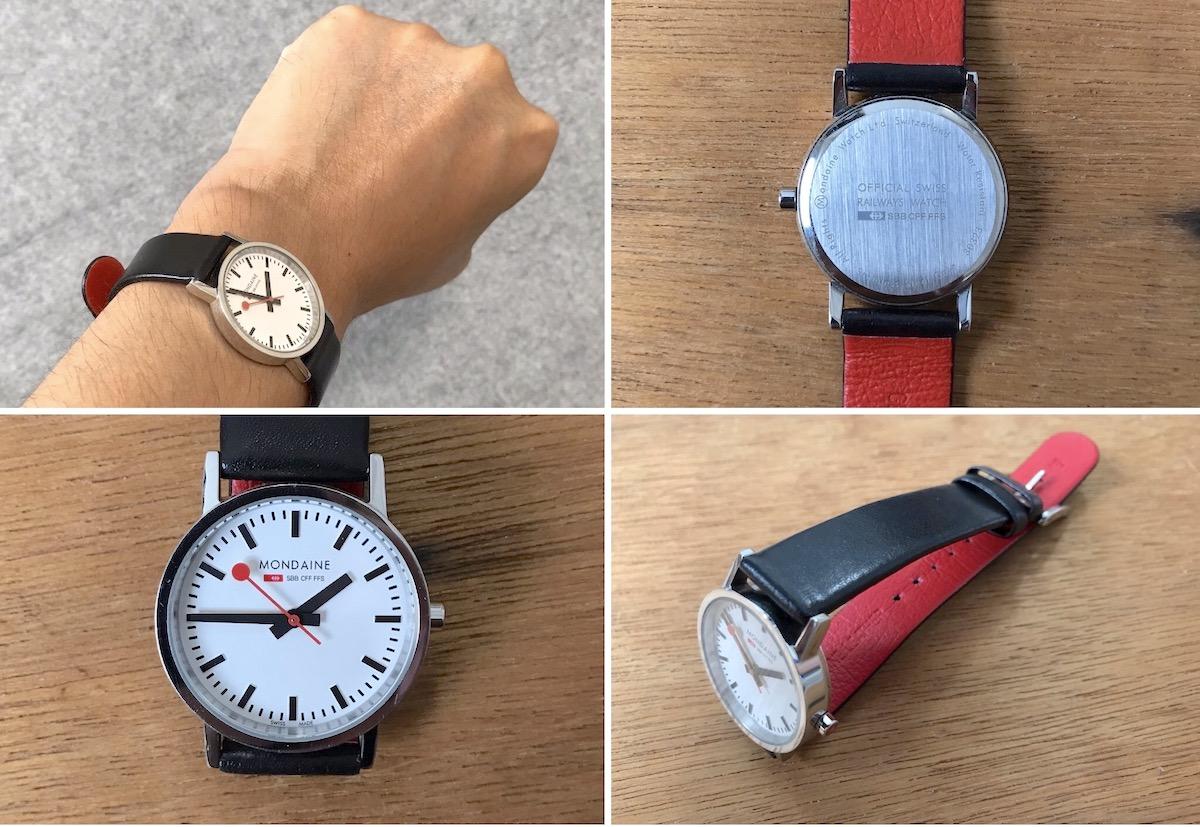 オンオフ使えるシンプルデザインな腕時計 MONDAINE ニュークラシックでおしゃれを楽しむ